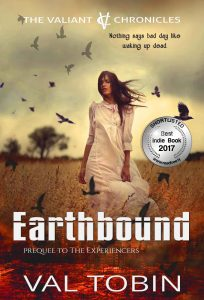 Earthbound #23 on ReadFreely's 50 Best Indie Books of 2017 list.