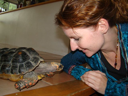 Pet Psychic Sheila Trecartin Talks to a Turtle