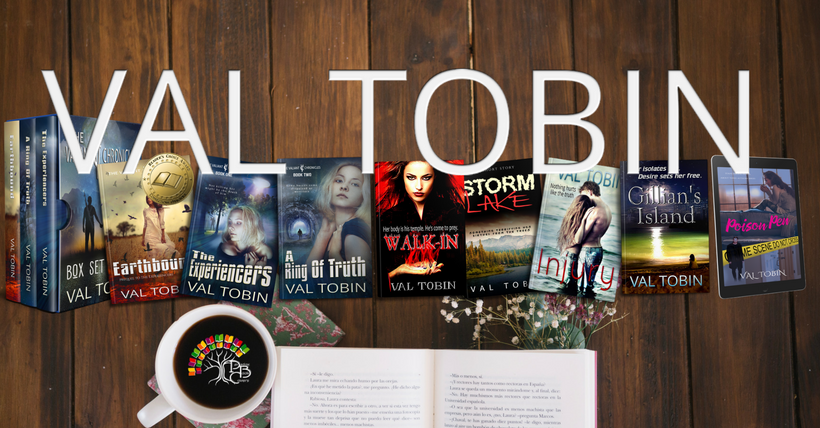 Author Val Tobin's Books