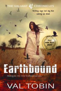 Earthbound by Val Tobin #23 in ReadFreely's 50 Best Indie Books of 2017