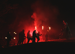 Pagan Imbolc Celebration